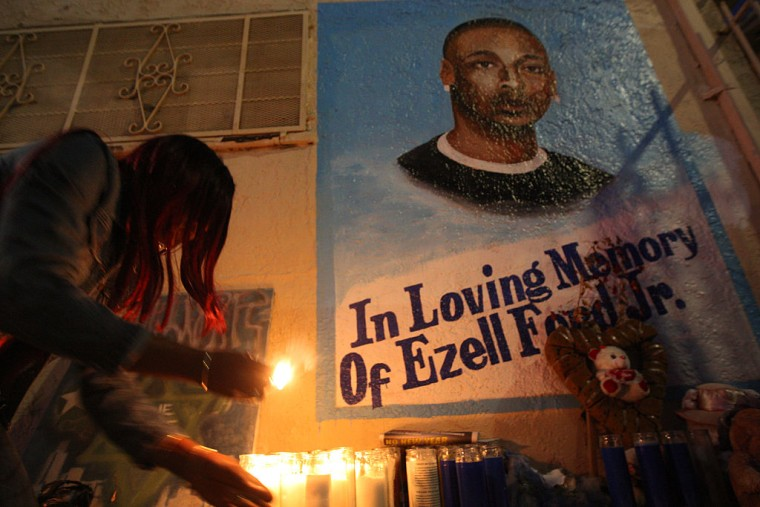 LAPD Officers Who Shot And Killed Ezell Ford Will Not Face Any Charges
