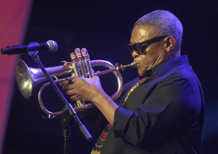Hugh Masekela, South African jazz trumpeter, dead at 78