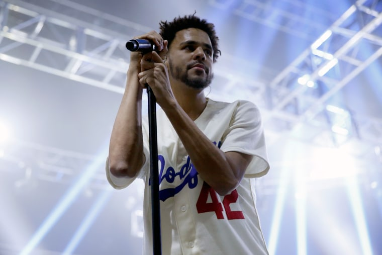 J. Cole Brings Out Jay Z, Drake, And Big Sean At Hometown Show