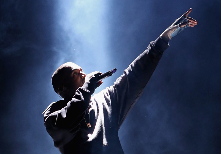 "Kanye West At Saint Pablo Show In Houston: ""Kid Cudi Is My Brother"""