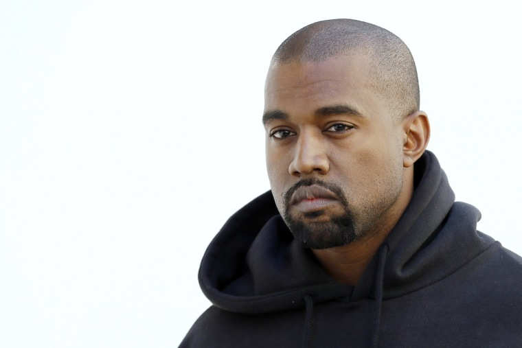 Check out the run of merch for Kanye West's <i>ye</i> listening party