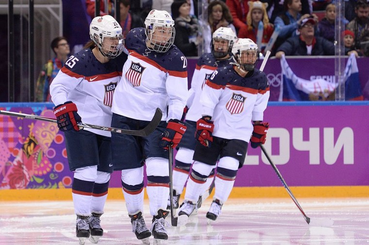 The U.S. Women's Hockey Team Just Earned An Inspiring Victory Off The Ice