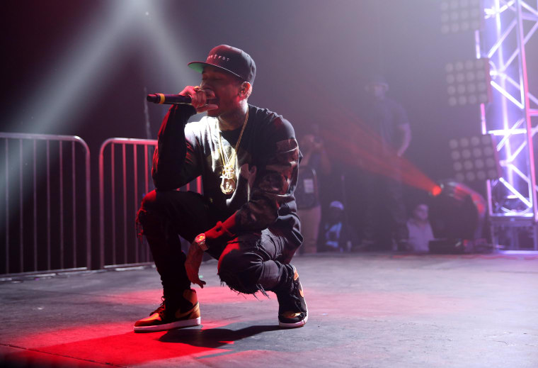 Tyga Released <i>The Gold Album</i> Out Of The Blue
