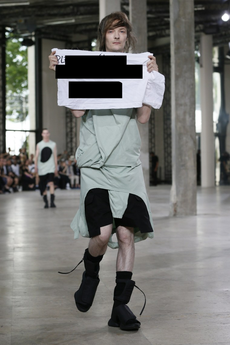 The Model Punched By Rick Owens Was Dropped By His Agency