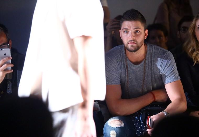 Which Professional Athlete Won Men's Fashion Week?