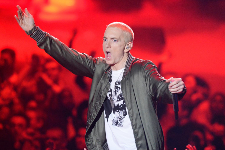 Eminem awarded over $400,000 damages from New Zealand political party