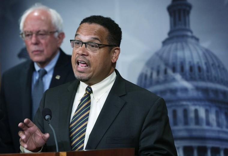 Bernie Sanders Has Endorsed Keith Ellison To Run The Democratic National Committee