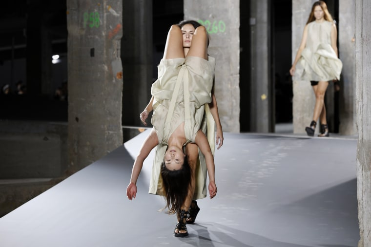 "The Internet Is Freaking Out About Rick Owens' ""Human Backpacks"""