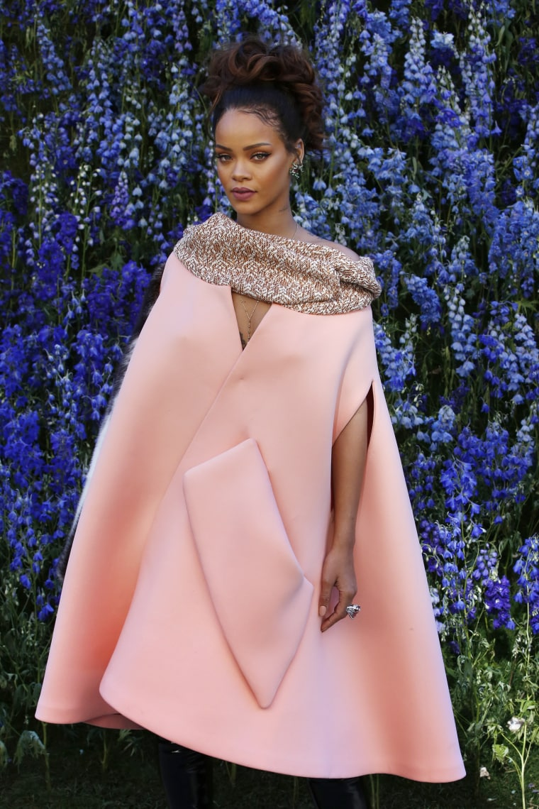 Rihanna Was The Most Beautiful Part Of Dior's Beautiful Presentation