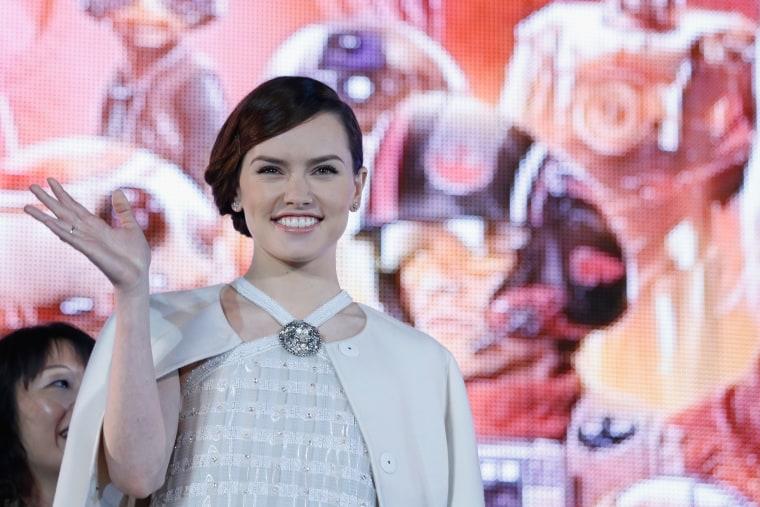 <i>Star Wa's'</i> Daisy Ridley To Record Music