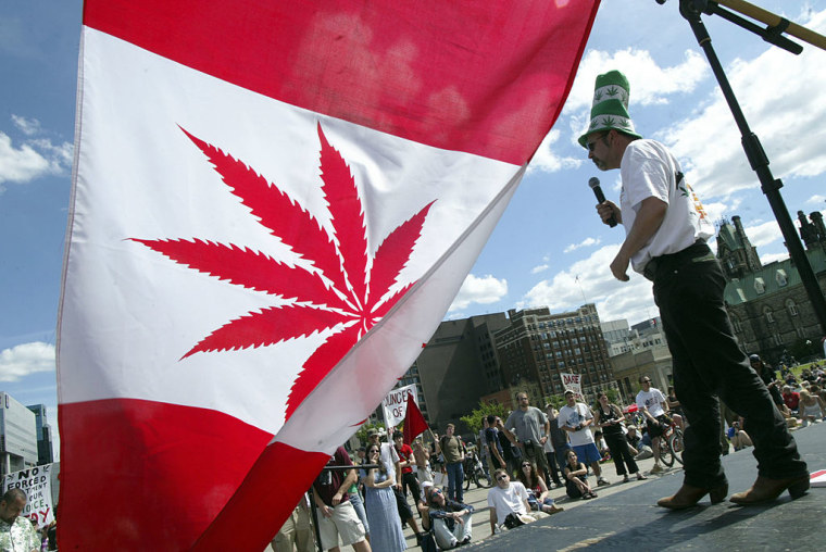 Canada Will Try To Legalize Marijuana In Spring 2017