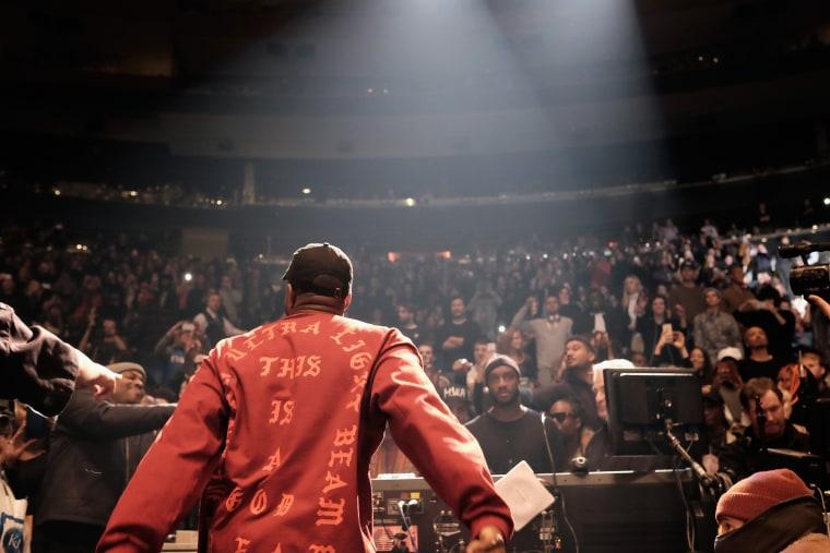 Kanye West Begins <i>The Life Of Pablo</i> Revisions On TIDAL