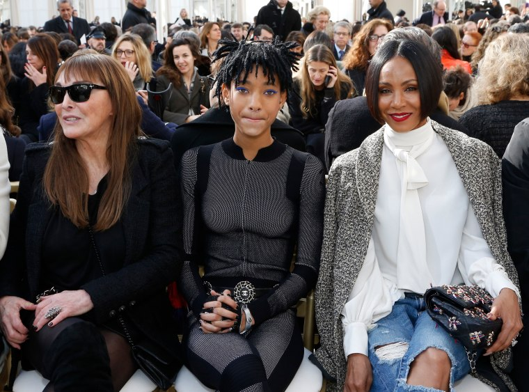 Willow Smith Wearing A Catsuit At A Chanel Show Is Everything