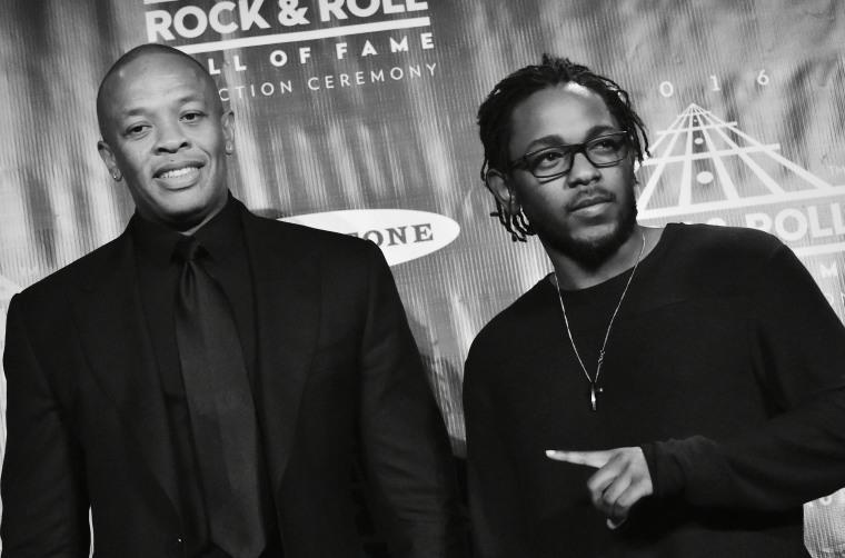 Listen to a Kendrick Lamar x Dr. Dre mashup project, <i>The DAMN. Chronic</i>