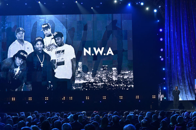 """Cops helpless as N.W.A.'s """"Fuck tha Police"""" is broadcast repeatedly on police scanners"""