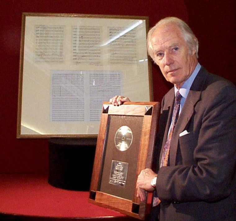 George Martin, Producer For The Beatles, Has Died