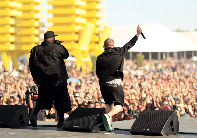 Watch Bernie Sanders Introduce Run The Jewels At Coachella