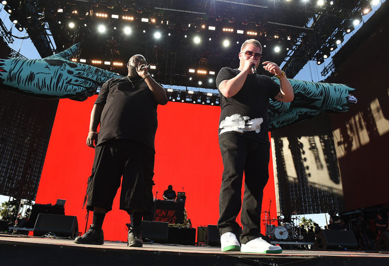 "Listen To Run The Jewels's New Single, ""Talk To Me"""