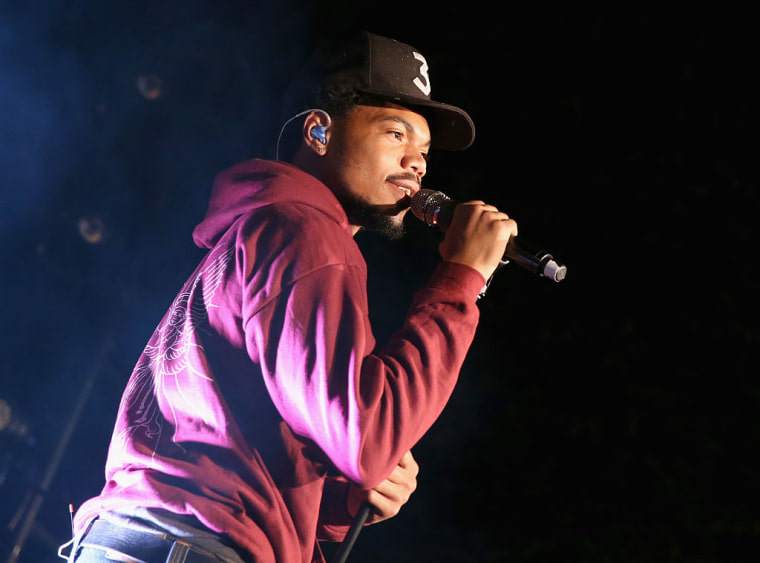 Chance The Rapper Is Bringing Voter Registration To The Magnificent Coloring World Tour