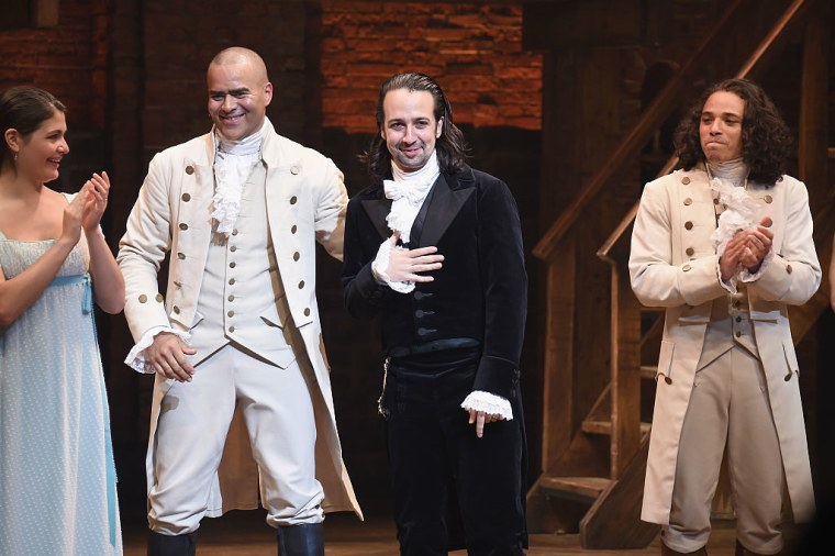 Listen To The Star-Studded <i>Hamilton Mixtape</i>
