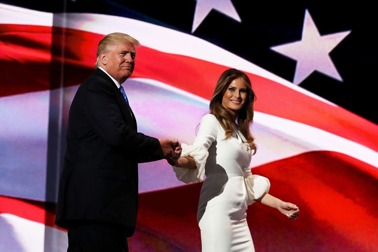 "Melania Trump Says Her Husband Was ""Egged On"" Into ""Boy Talk"""