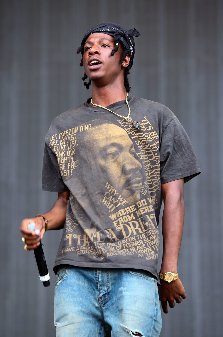 """Joey Bada$$ covers Prince's """"When Doves Cry"""""""