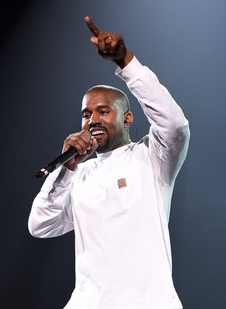 Watch Kanye West perform at Kid Cudi's Show