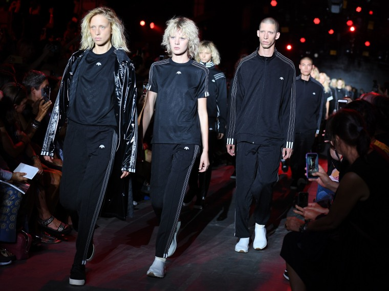 Alexander Wang Surprises His NYFW Audience With An Adidas Originals Collaboration