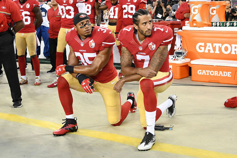Report: Colin Kaepernick Plans To Stand During The National Anthem Next Season