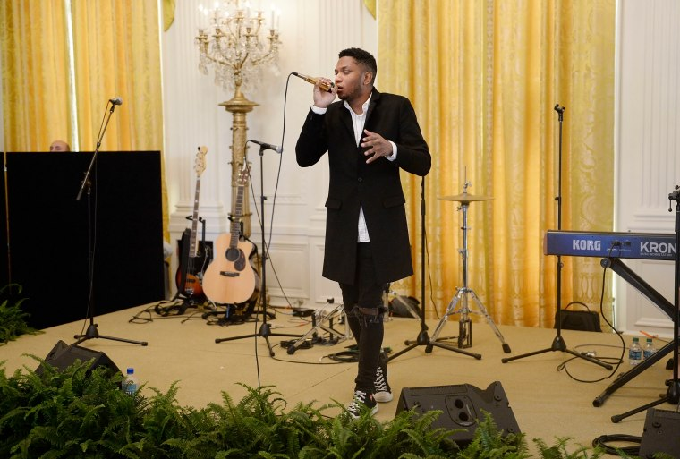 Watch Gallant Perform At The White House For South By South Lawn