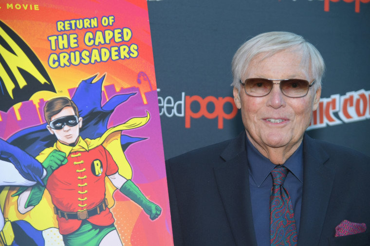 <i>Batman</i>'s Adam West Dies At 88