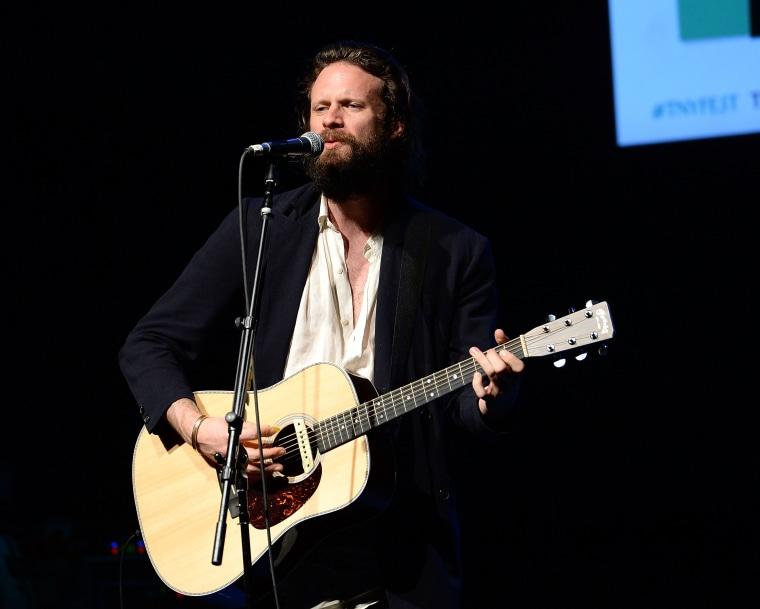 Watch Father John Misty's makeshift Grammy acceptance speech