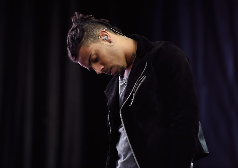 Report: Vic Mensa Arrested On Felony Gun Charge