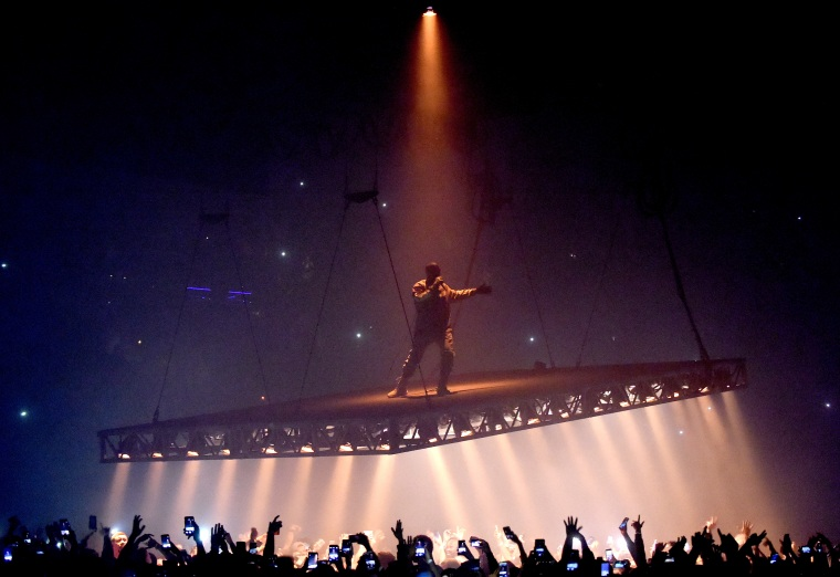 Kanye West breaks U.K. chart record with <I>The Life Of Pablo</i>