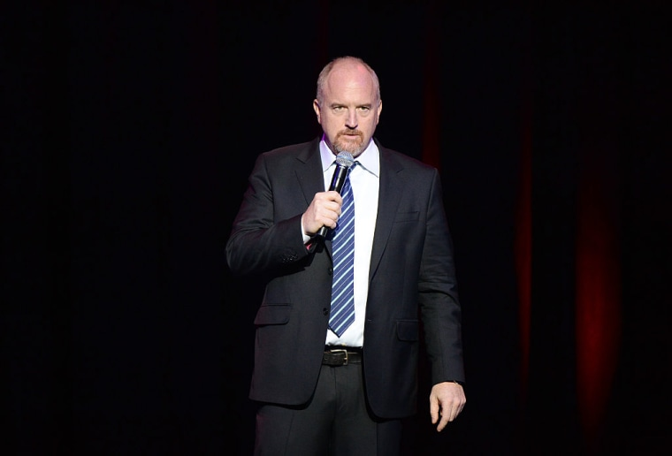 Five women accused Louis CK of inappropriate behavior