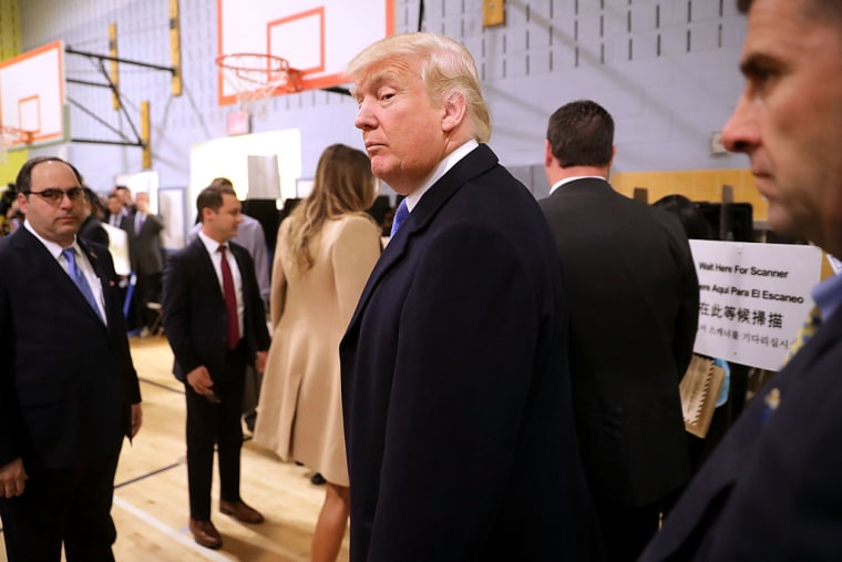 Donald Trump Was Booed And Heckled By Crowds At His Own Polling Location