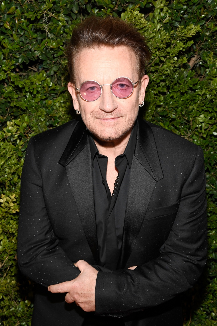 "Bono thinks music has gotten too ""girly"" for angry men"