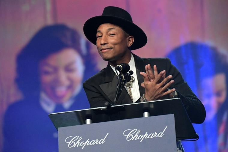 Pharrell Announced As NYU Commencement Speaker
