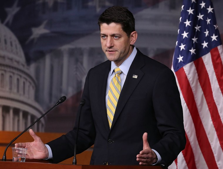 Paul Ryan Says A Budget Proposed To Repeal Obamacare Will Also Defund Planned Parenthood