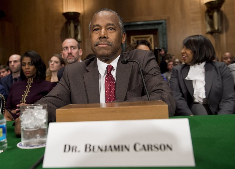 Ben Carson Confirmed As Housing Secretary