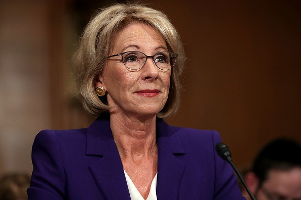Betsy DeVos Picked CEO Of Private Loan Company To Run Federal Student Loan System