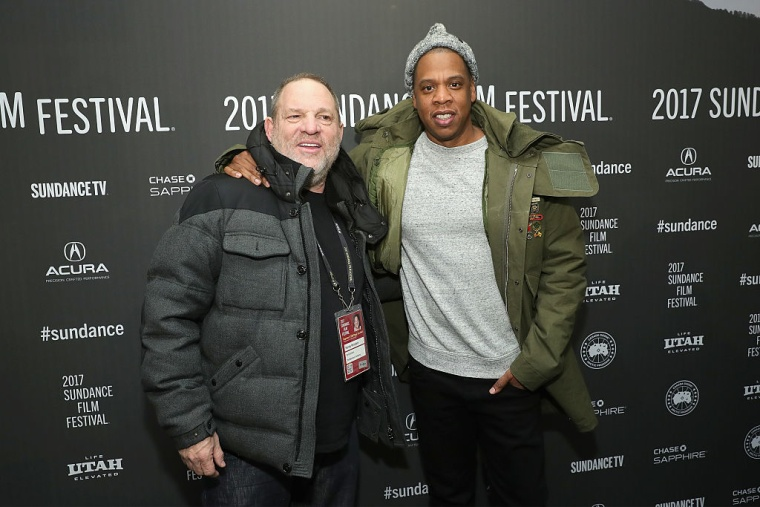 Report: JAY-Z may purchase Harvey Weinstein's interest in his company