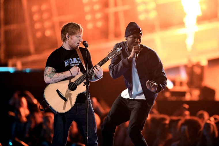 "Stormzy And Ed Sheeran Connect On ""Shape Of You"" Remix"