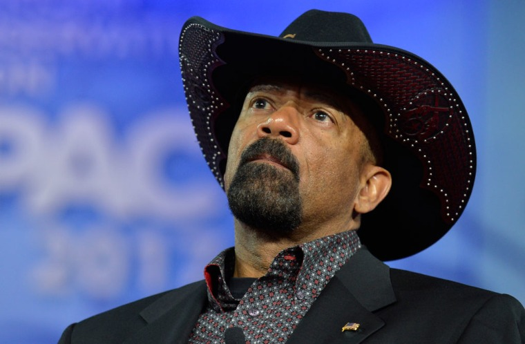 Sheriff David Clarke Says He's Accepted A Job At The Department Of Homeland Security