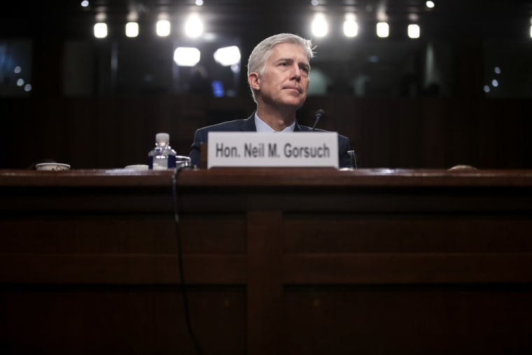 Republicans Change Senate Rules To Clear The Way For Neil Gorsuch's Nomination To The Supreme Court