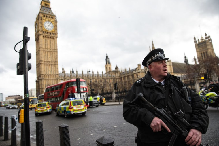 Multiple Casualties Reported After U.K. Parliament Attack