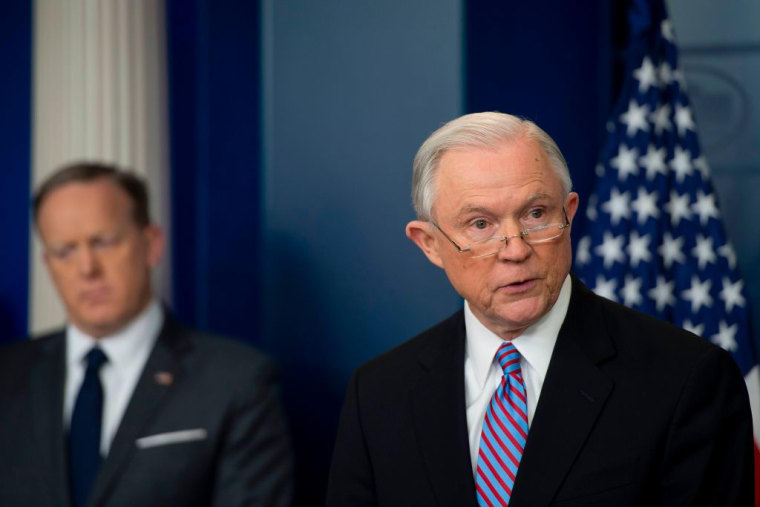 Jeff Sessions Says The Department Of Justice Will Deny Federal Funding To Sanctuary Cities