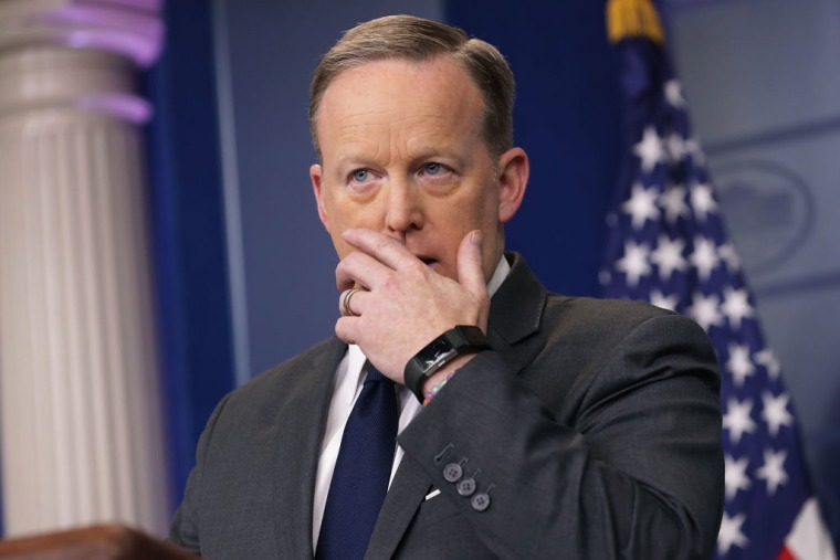 Report: Sean Spicer Resigned As White House Press Secretary