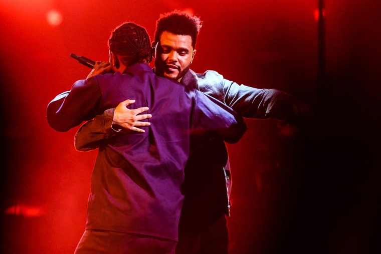 """Kendrick Lamar and The Weeknd team up on """"Pray For Me"""""""