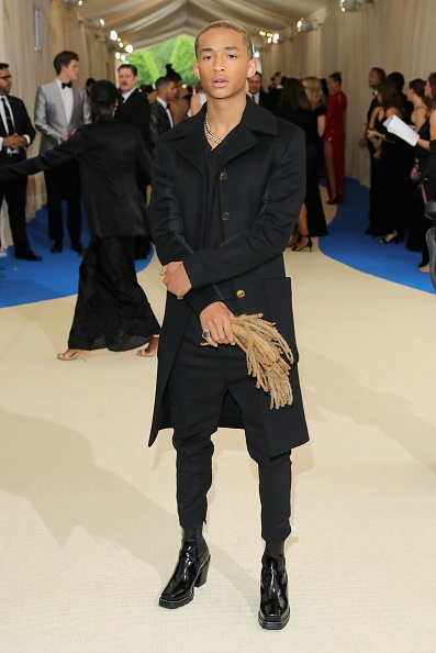 Jaden Smith Carried His Dreads To The Met Gala